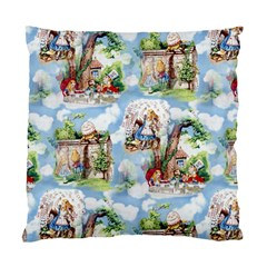 Alice In Wonderland Cushion Case (Two Sided)