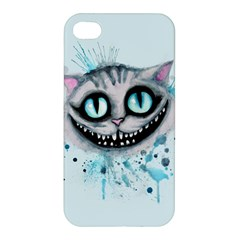 Cheshire Watercolor  Apple iPhone 4/4S Hardshell Case