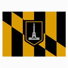 Flag of Baltimore  Large Glasses Cloth