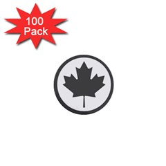 Low Visibility Roundel of the Royal Canadian Air Force 1  Mini Buttons (100 pack)