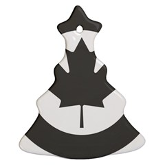 Low Visibility Roundel of the Royal Canadian Air Force Ornament (Christmas Tree)
