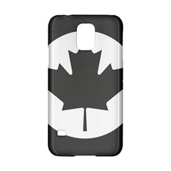 Low Visibility Roundel Of The Royal Canadian Air Force Samsung Galaxy S5 Hardshell Case