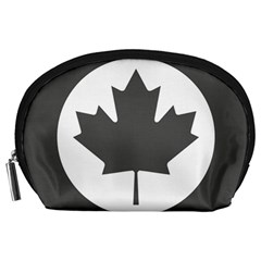 Low Visibility Roundel Of The Royal Canadian Air Force Accessory Pouches (large)