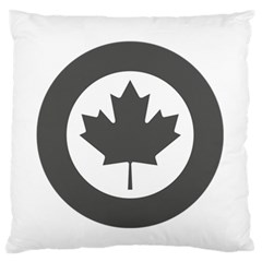 Low Visibility Roundel Of The Royal Canadian Air Force Standard Flano Cushion Case (two Sides)