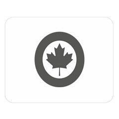 Low Visibility Roundel of the Royal Canadian Air Force Double Sided Flano Blanket (Large)