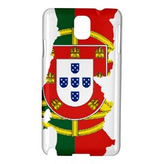 Flag Map of Portugal Samsung Galaxy Note 3 N9005 Hardshell Case