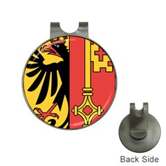 Coat of Arms of Geneva Canton  Hat Clips with Golf Markers
