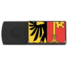 Coat of Arms of Geneva Canton  USB Flash Drive Rectangular (4 GB)