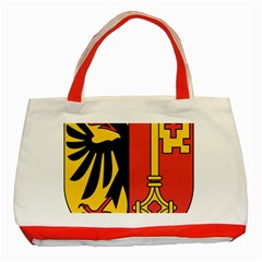 Coat of Arms of Geneva Canton  Classic Tote Bag (Red)