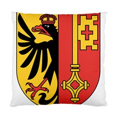 Coat of Arms of Geneva Canton  Standard Cushion Case (One Side)