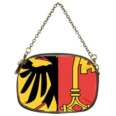 Coat of Arms of Geneva Canton  Chain Purses (Two Sides)
