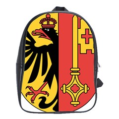 Coat of Arms of Geneva Canton  School Bags(Large)