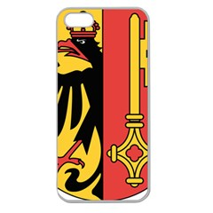 Coat of Arms of Geneva Canton  Apple Seamless iPhone 5 Case (Clear)
