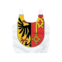 Coat of Arms of Geneva Canton  Full Print Recycle Bags (S)
