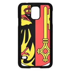 Coat of Arms of Geneva Canton  Samsung Galaxy S5 Case (Black)