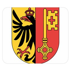 Coat of Arms of Geneva Canton  Double Sided Flano Blanket (Small)
