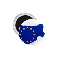 European Flag Map of Cyprus  1.75  Magnets