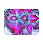 Crystal Northern Lights Palace, Abstract Ice  Double Sided Flano Blanket (Mini)  35 x27 Blanket Back
