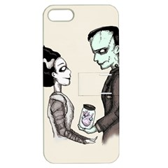 FrankenHeart Apple iPhone 5 Hardshell Case with Stand
