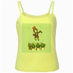 Fizzy Lifting Yellow Spaghetti Tank