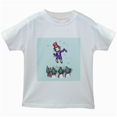 Fizzy Lifting Kids White T Shirts
