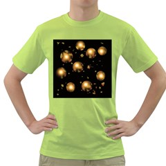 Golden balls Green T-Shirt