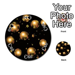 Golden balls Playing Cards 54 (Round)