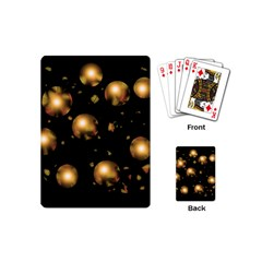 Golden balls Playing Cards (Mini)