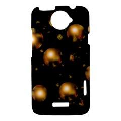 Golden balls HTC One X Hardshell Case