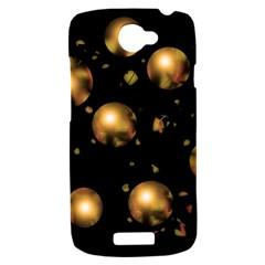 Golden balls HTC One S Hardshell Case