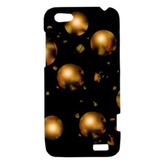 Golden balls HTC One V Hardshell Case