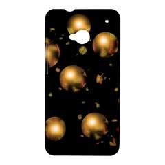 Golden balls HTC One M7 Hardshell Case