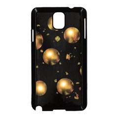 Golden balls Samsung Galaxy Note 3 Neo Hardshell Case (Black)