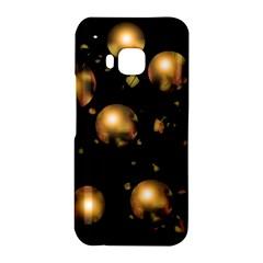 Golden balls HTC One M9 Hardshell Case