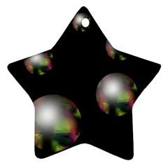 Silver pearls Ornament (Star)