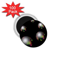 Silver pearls 1.75  Magnets (100 pack)
