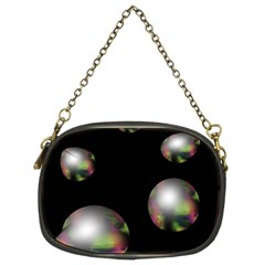 Silver pearls Chain Purses (Two Sides)