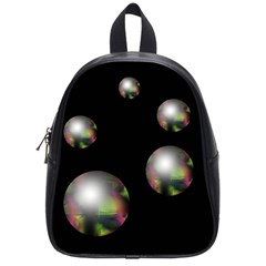 Silver pearls School Bags (Small)