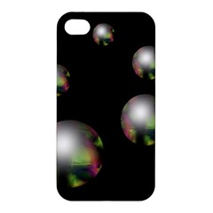 Silver pearls Apple iPhone 4/4S Hardshell Case