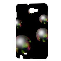 Silver pearls Samsung Galaxy Note 1 Hardshell Case