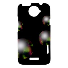 Silver pearls HTC One X Hardshell Case