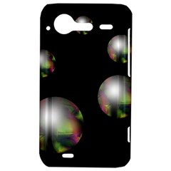 Silver pearls HTC Incredible S Hardshell Case