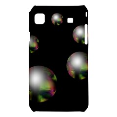 Silver pearls Samsung Galaxy S i9008 Hardshell Case