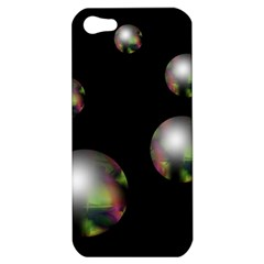 Silver pearls Apple iPhone 5 Hardshell Case
