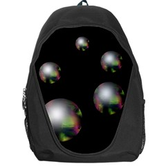 Silver pearls Backpack Bag
