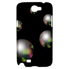 Silver pearls Samsung Galaxy Note 2 Hardshell Case