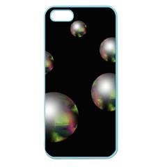 Silver pearls Apple Seamless iPhone 5 Case (Color)