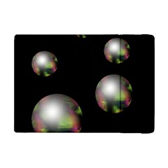 Silver pearls Apple iPad Mini Flip Case
