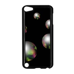 Silver pearls Apple iPod Touch 5 Case (Black)