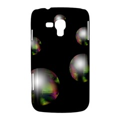 Silver pearls Samsung Galaxy Duos I8262 Hardshell Case